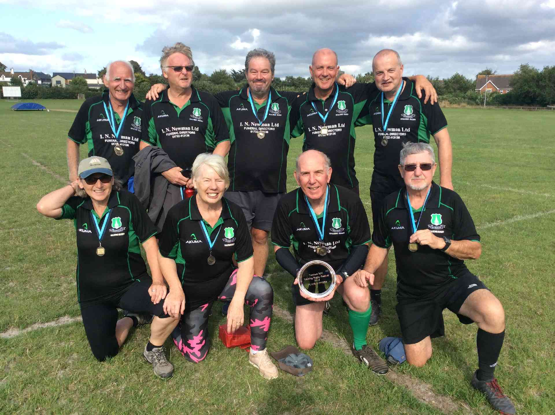 Walking Rugby Success at Topsham Festival 2019